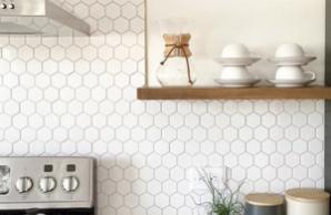 Hexagon 2x2 White